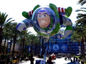 Larger-than-life Buzz Lightyear