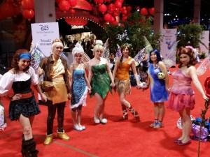 A Cast of Disney Fairies