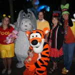Character Photo With Eyore and Tigger