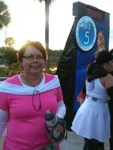 Debbie at Mile 5