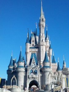 Cinderella's Castle - Magic Kingdom. 189 feet tall.