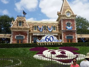 Disneyland 60th Anniversary Entrance